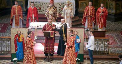 Проповідь Блаженнішого Святослава у свято Усікновення чесної голови пророка Івана Хрестителя виголошена в Будапешті